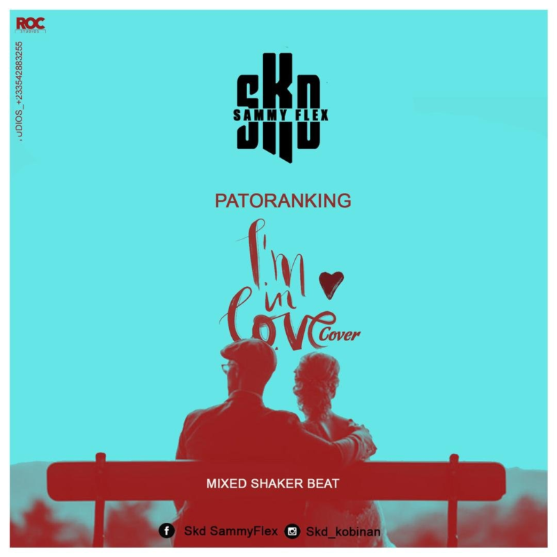 SKD Sammy Flex - I'm In Love (Patoranking Cover) (Mixed By Shaker Beat)
