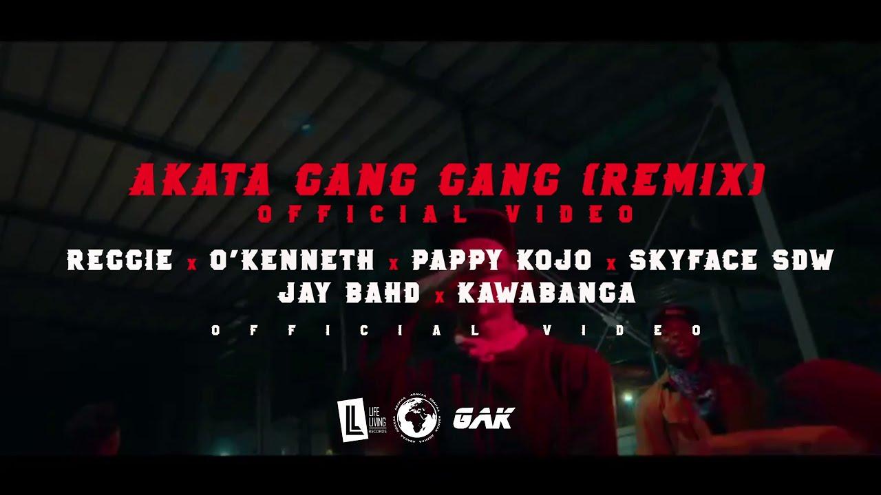 Reggie – Akata Gang Gang (Remix) ft. Pappy Kojo x O'Kenneth x Jay Bahd x Skyface SDW x Kawabanga (Official Video)