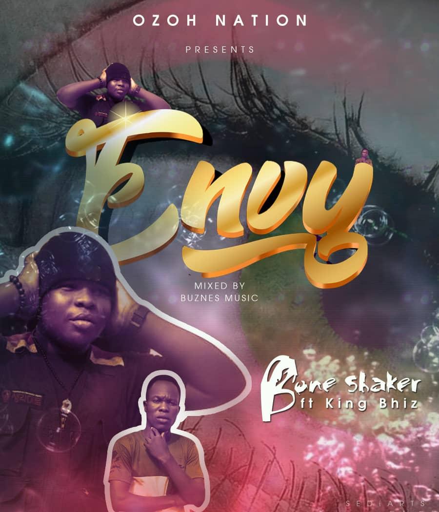 Bone Shaker - Envy ft King Bhiz (Mixed by Buznes Music)